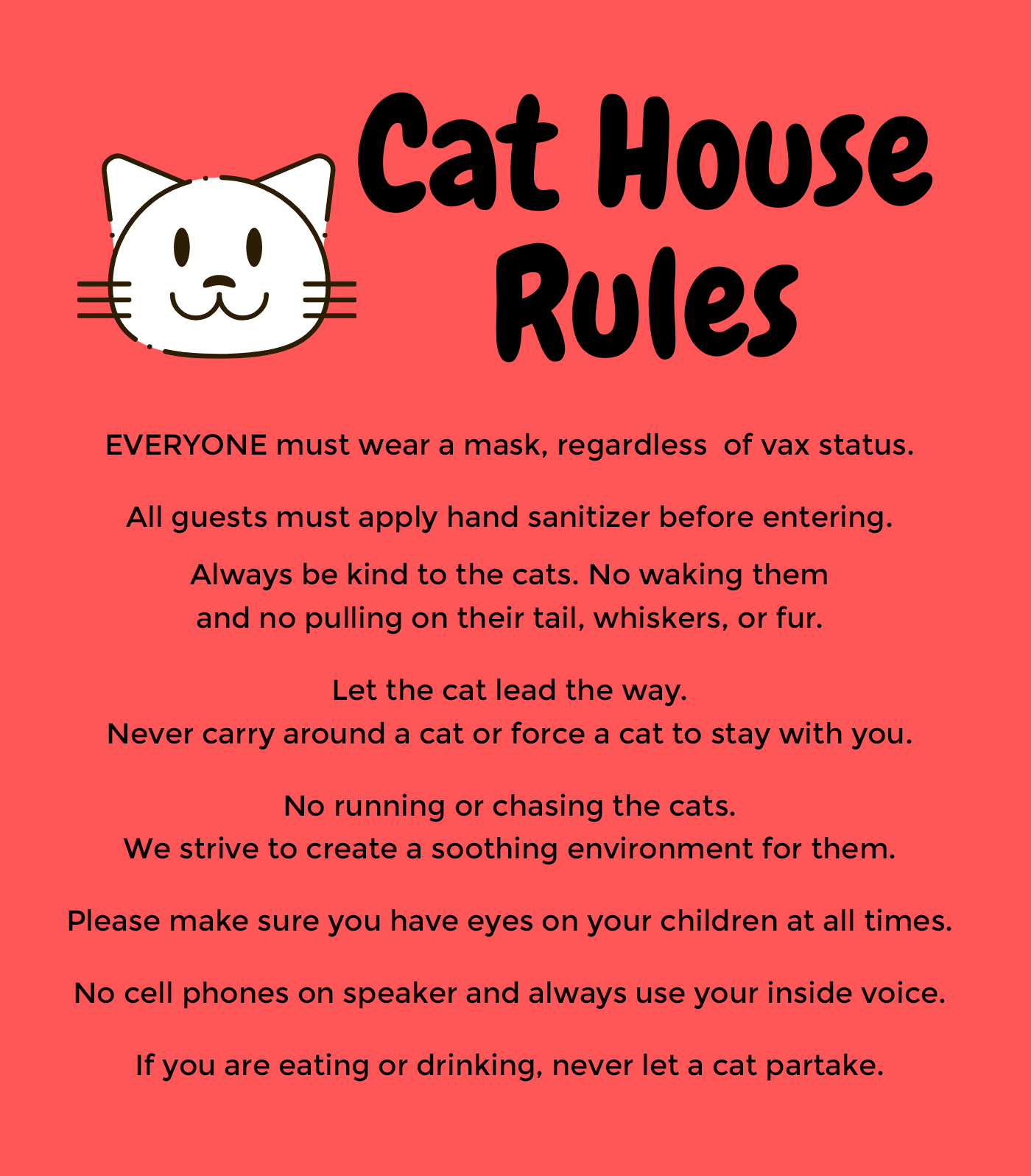 cat house rules