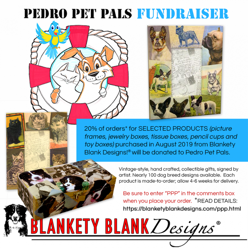 Fundraiser with Blankety Blank Designs
