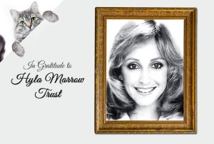 thank you to Hyla Marrow Trust