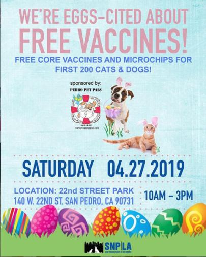 SNPLA Free vaccines